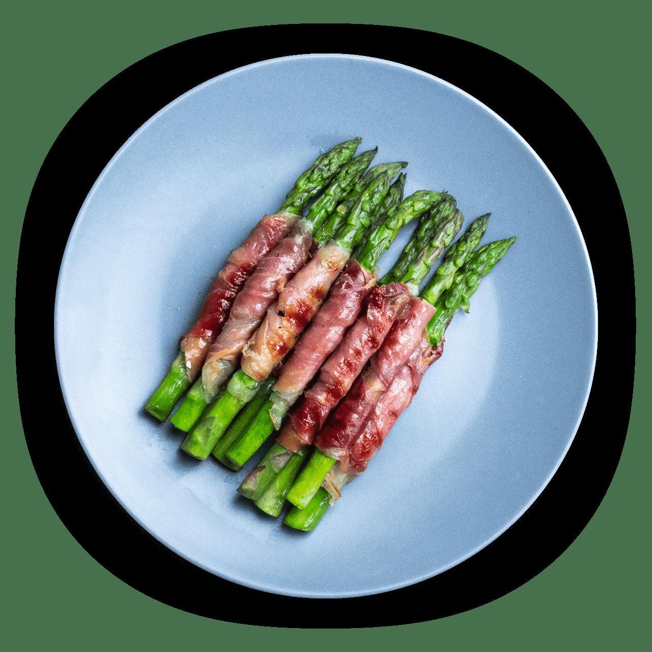 tostibanaan-asperges-serrano-ham