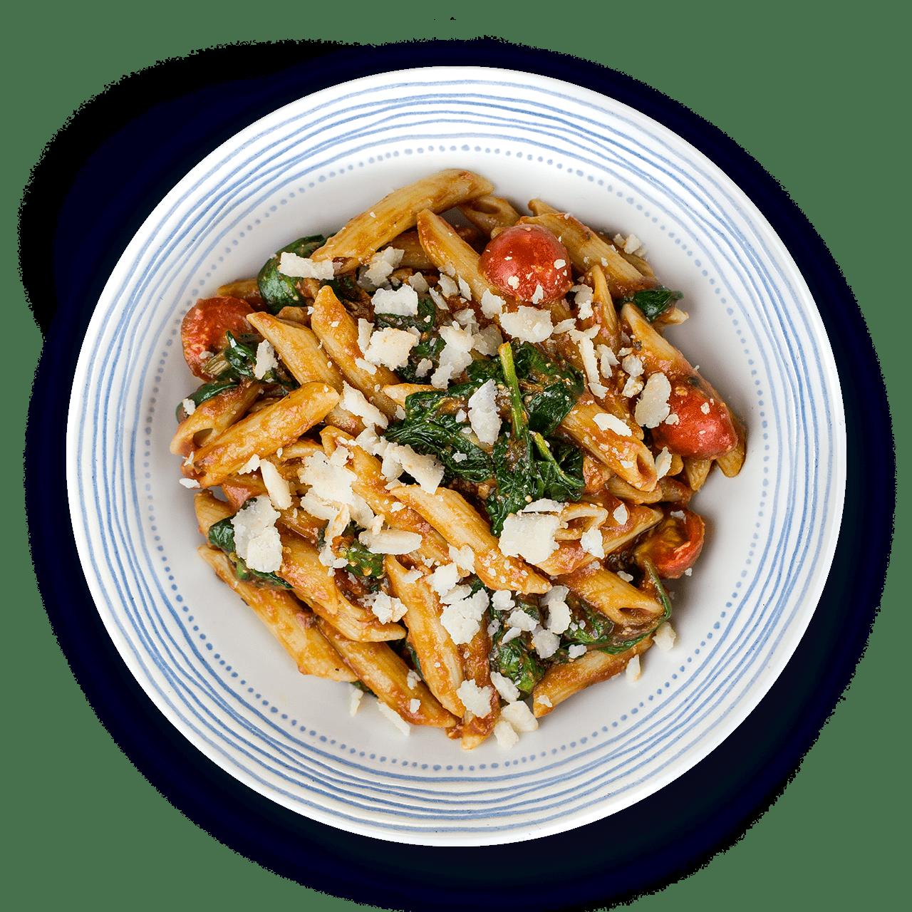 tostibanaan-pasta-a-la-bladspinazie