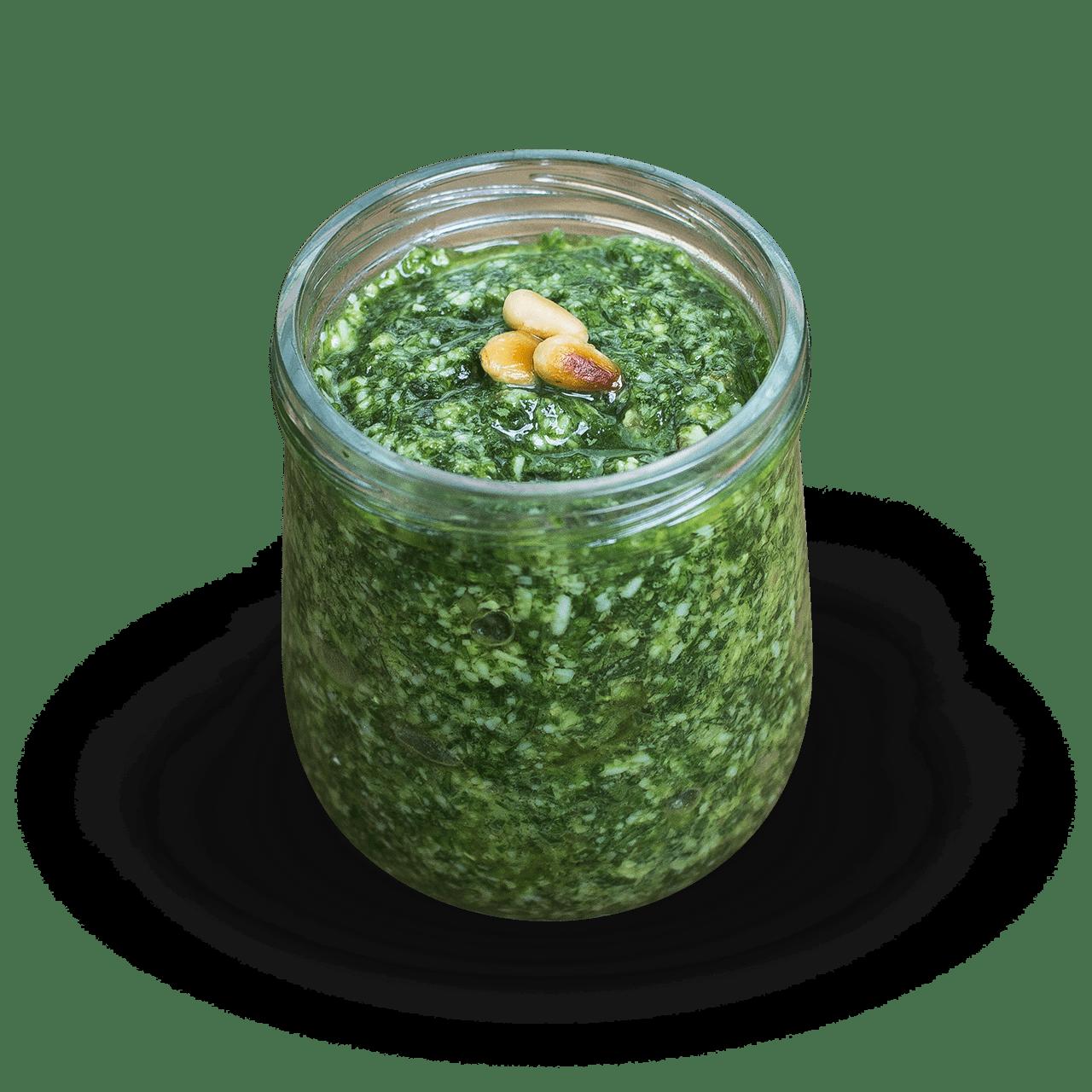 tostibanaan-pesto-zelfgemaakt