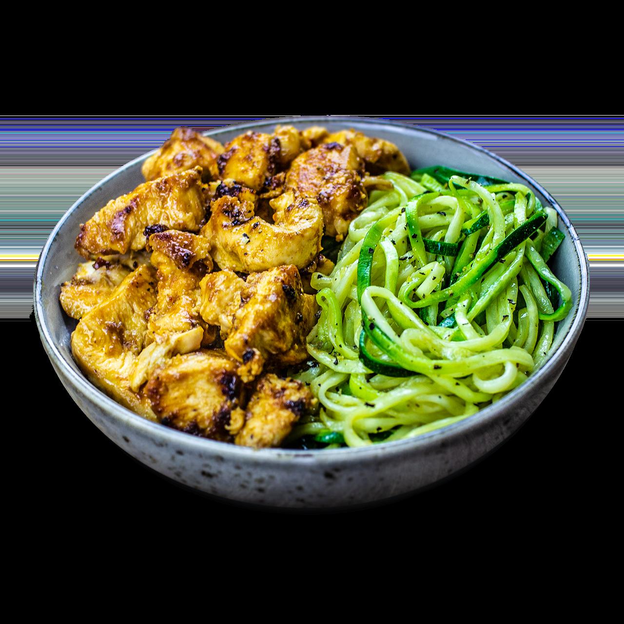 tostibanaan-pittige-kip-courgette-noodles