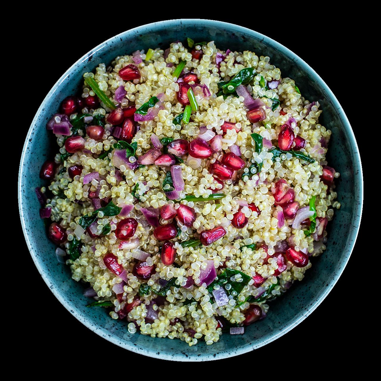 tostibanaan-quinoa-granaatappel-salade
