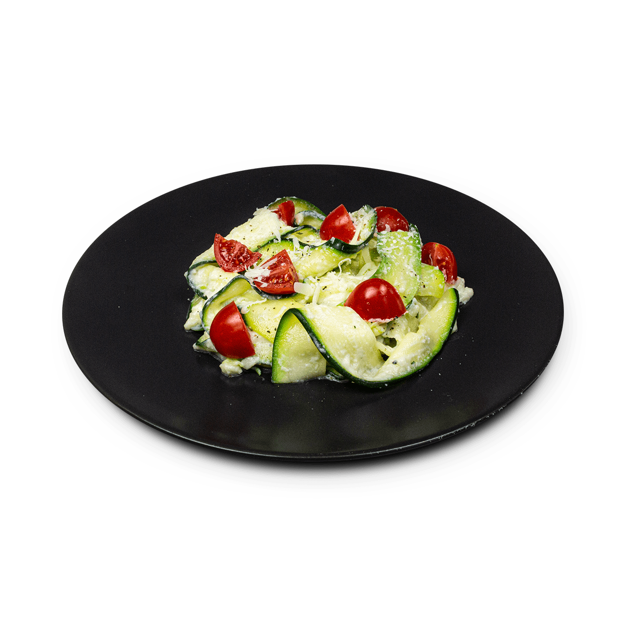 tostibanaan-courgette-linten-witte-saus-cherrytomaat